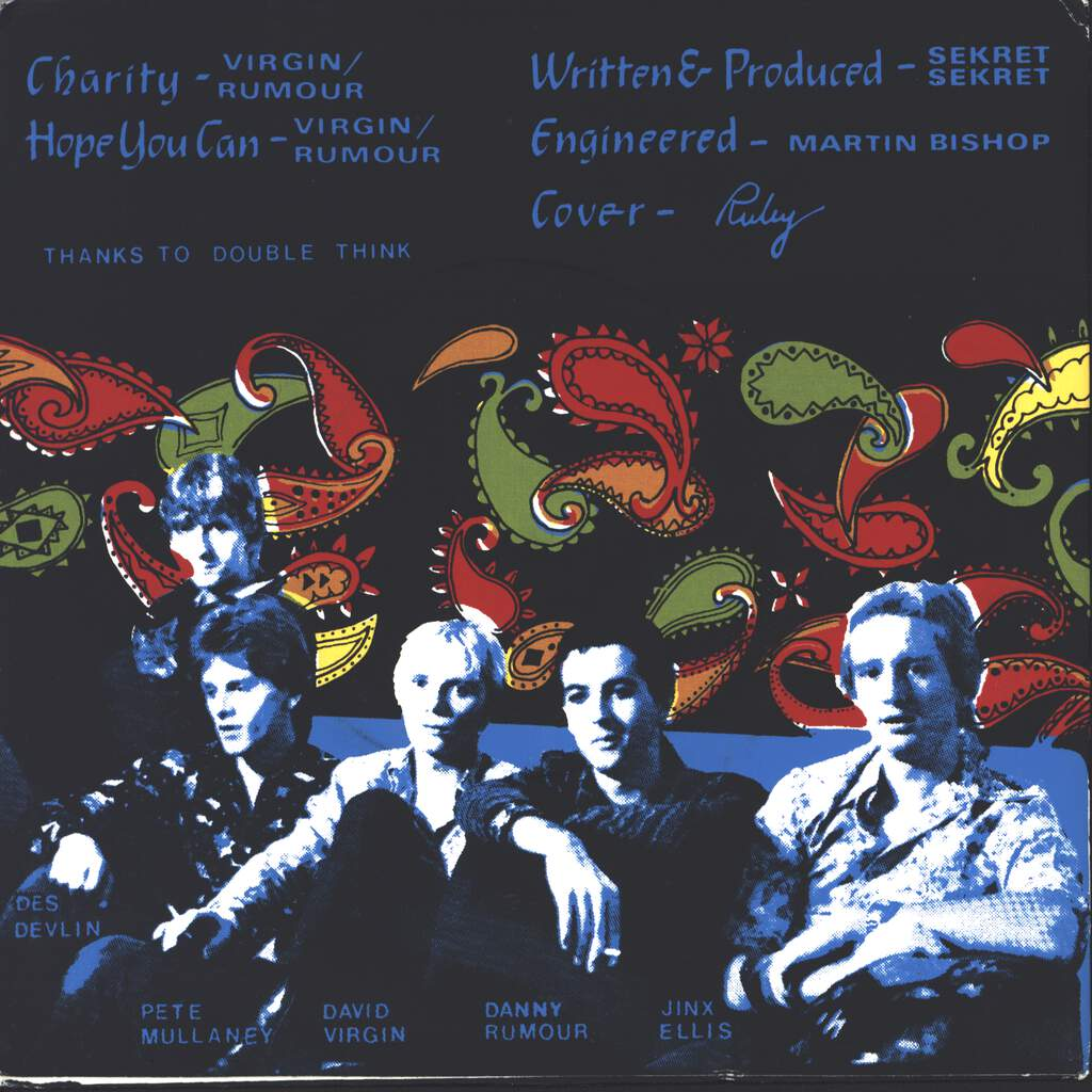 "Sekret Sekret: Charity, 7"" Single (Vinyl)"