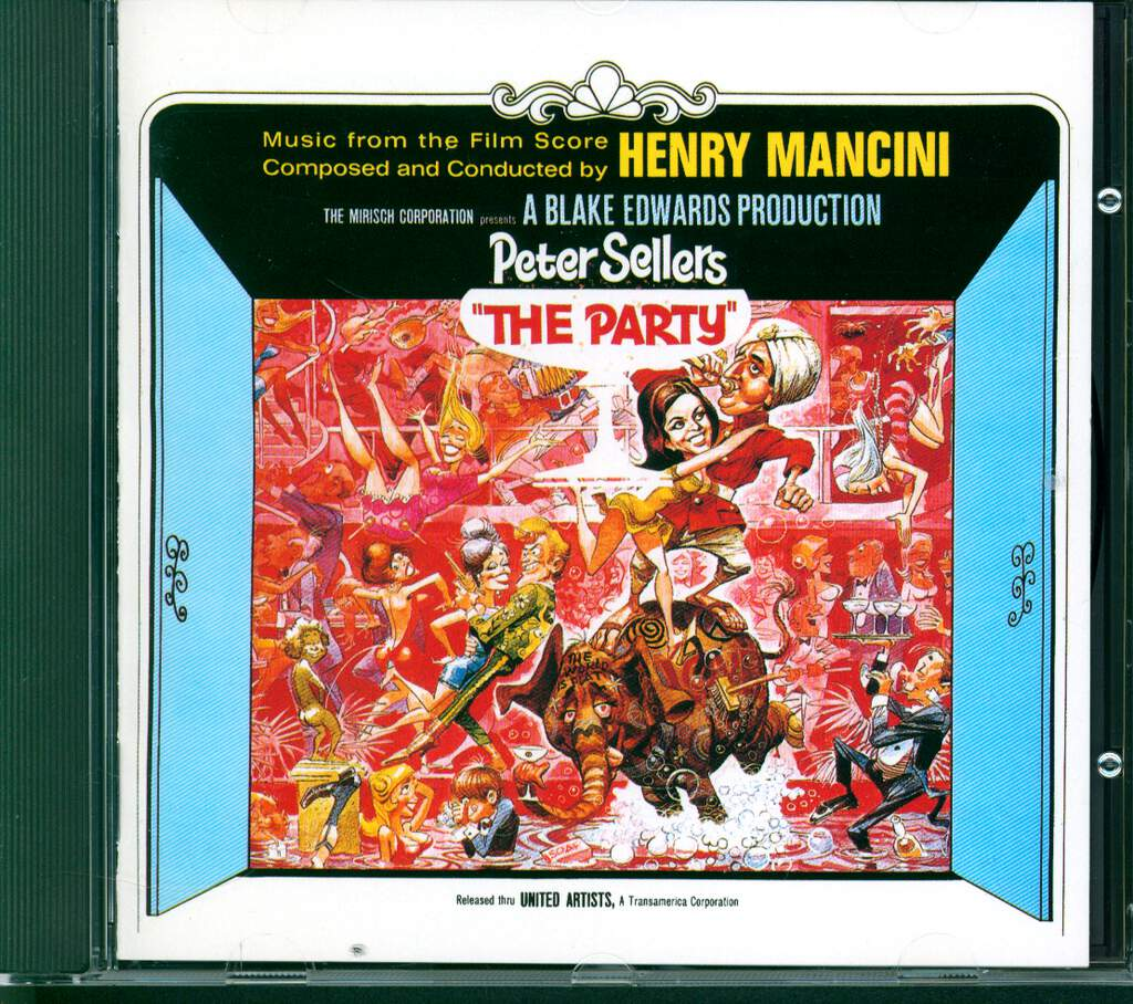 Henry Mancini And His Orchestra: The Party (Music From The Film Score), CD