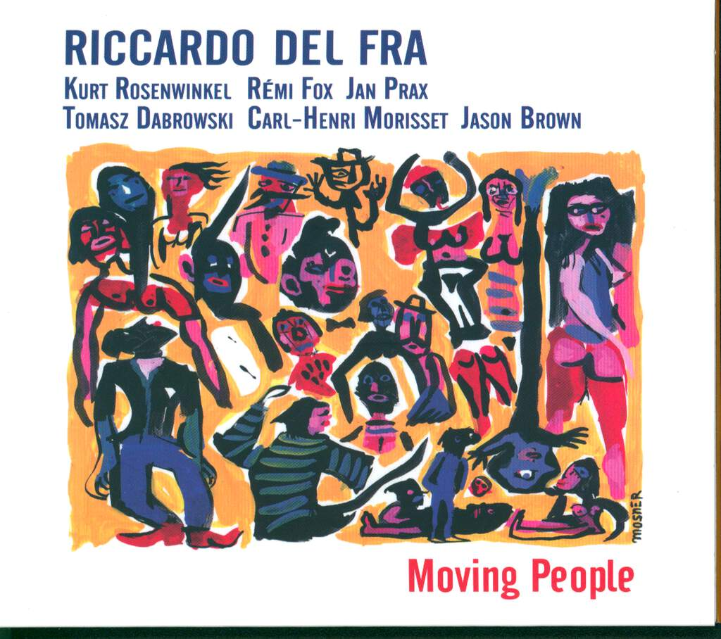 Riccardo Del Fra: Moving People, CD