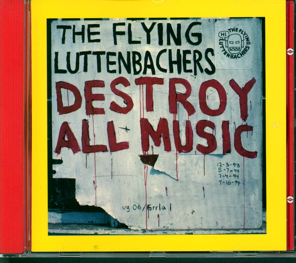 The Flying Luttenbachers: Destroy All Music, CD