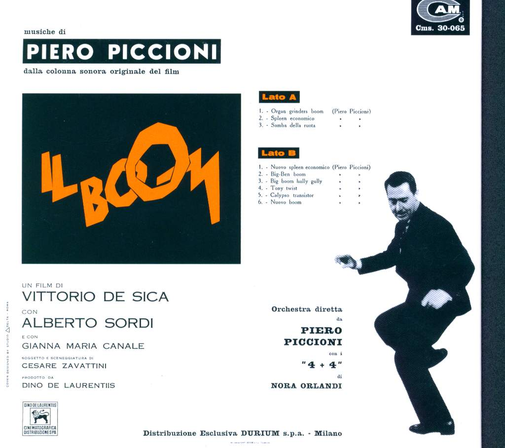 Piero Piccioni: Il Boom (Colonna Sonora Originale Del Film), CD