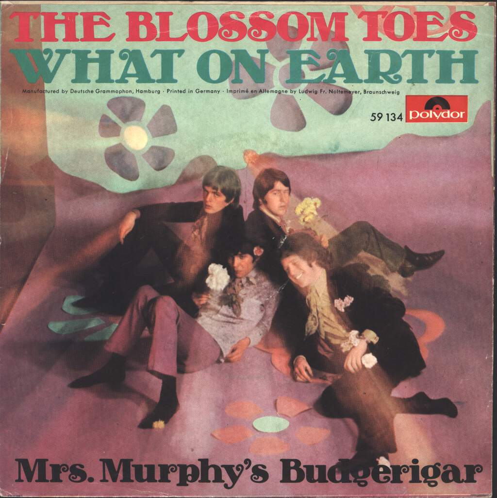 """Blossom Toes: What On Earth, 7"""" Single (Vinyl)"""