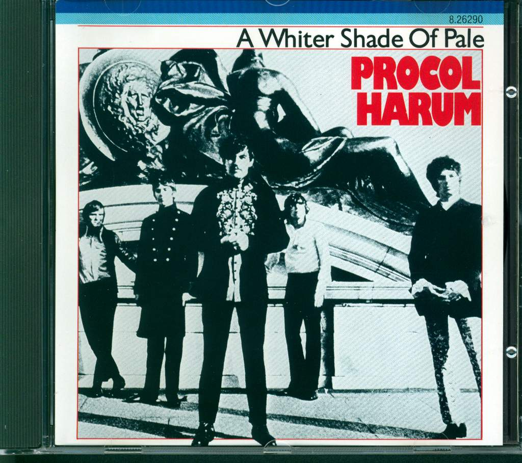Procol Harum: A Whiter Shade Of Pale, CD