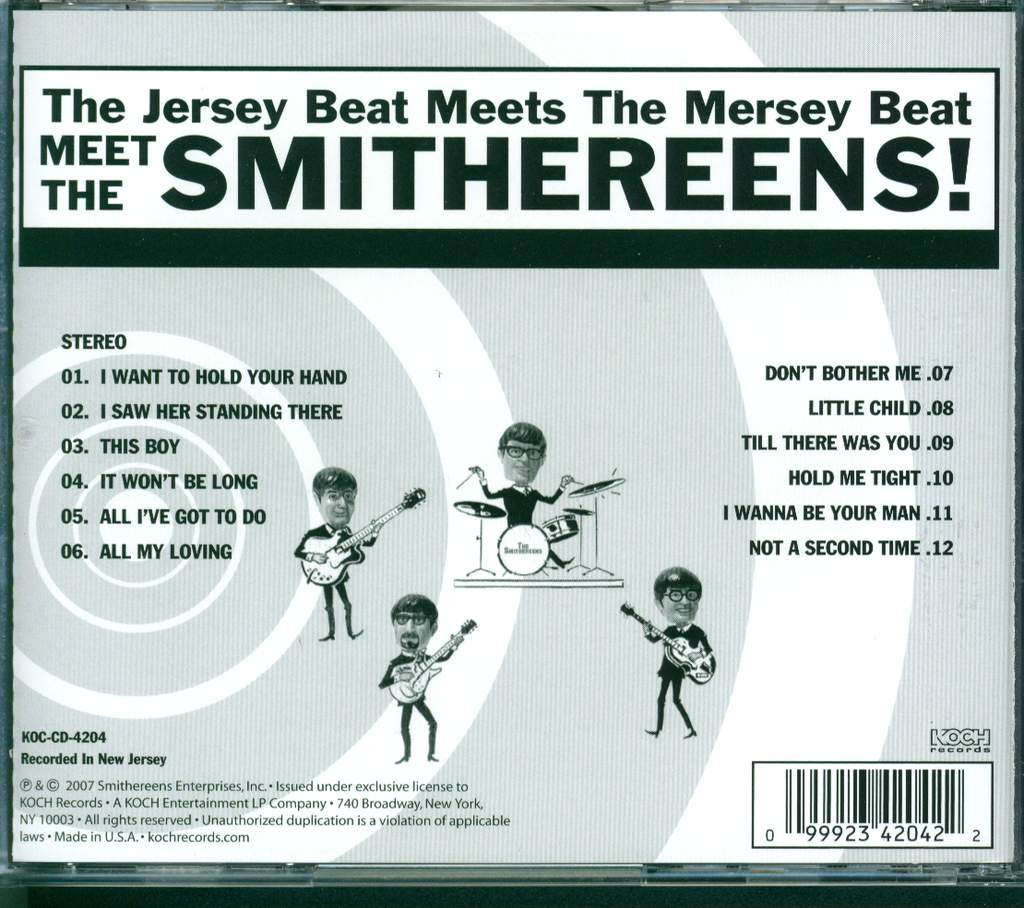 The Smithereens: Meet The Smithereens!, CD