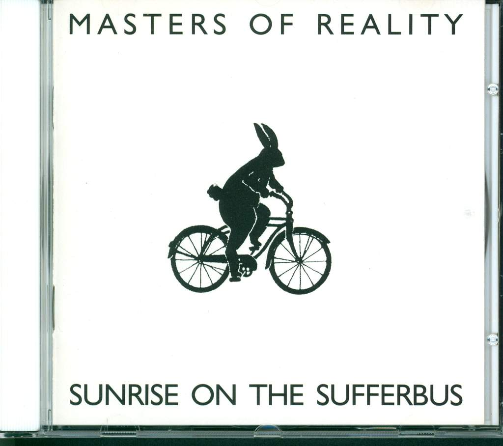 Masters Of Reality: Sunrise On The Sufferbus, CD