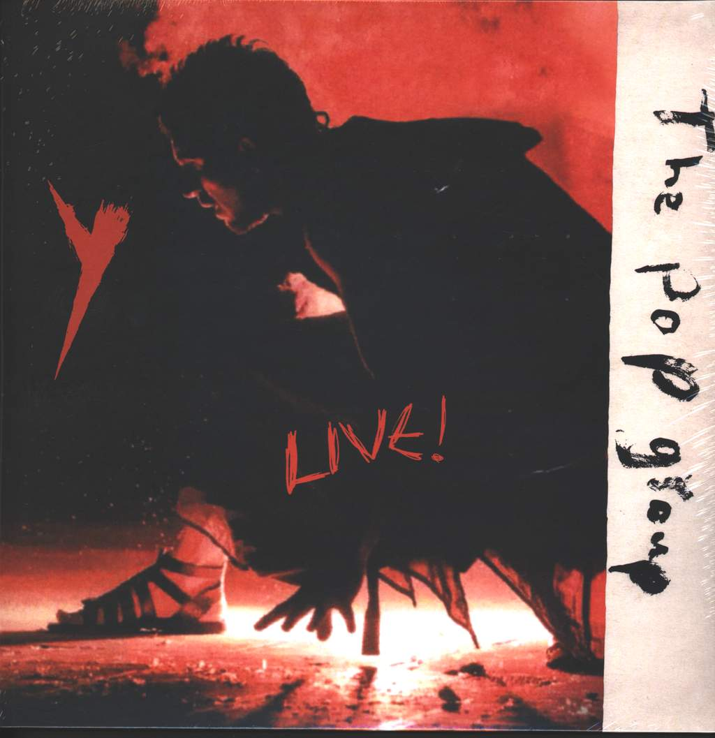 The Pop Group: Y Live!, LP (Vinyl)