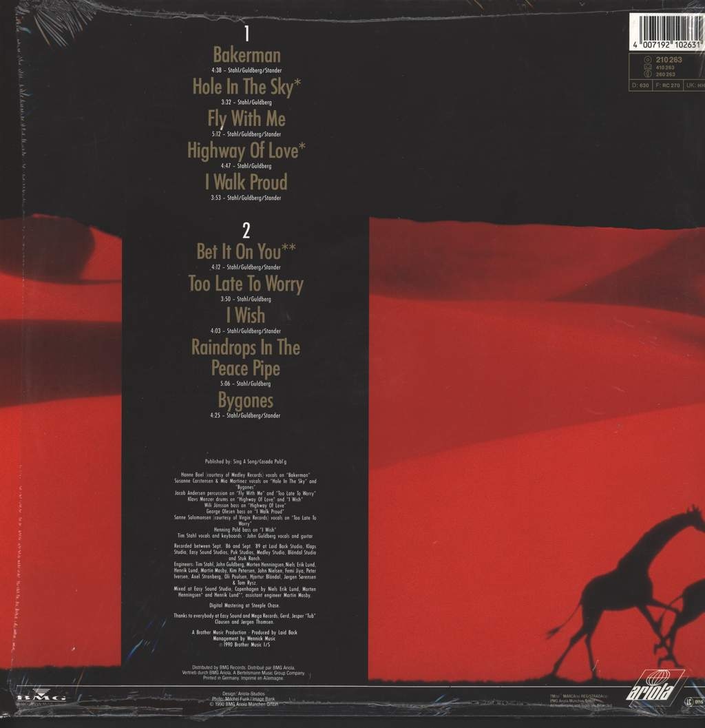 Laid Back: Hole In The Sky, LP (Vinyl)