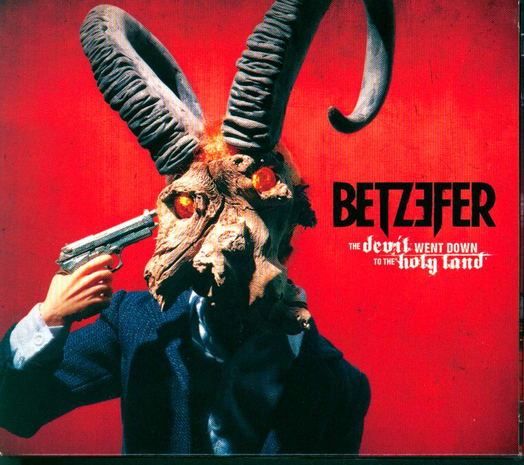 Betzefer: The Devil Went Down To The Holy Land, CD