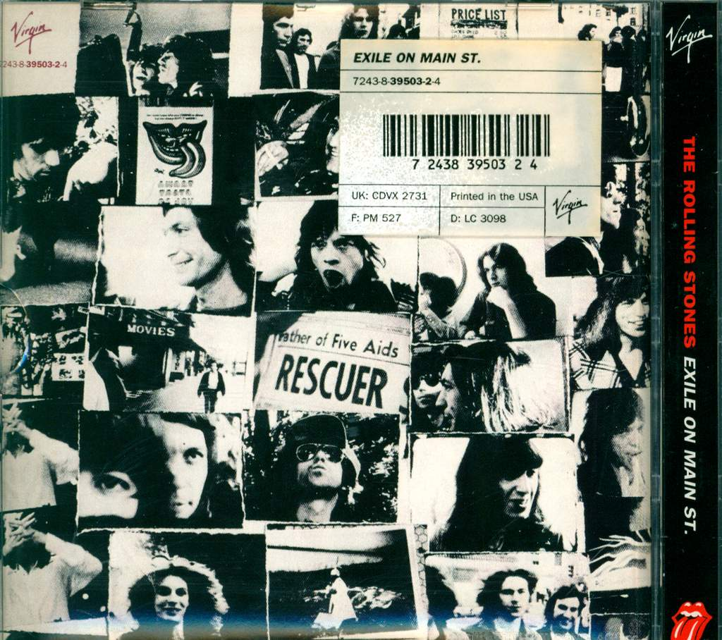 The Rolling Stones: Exile On Main Street, CD