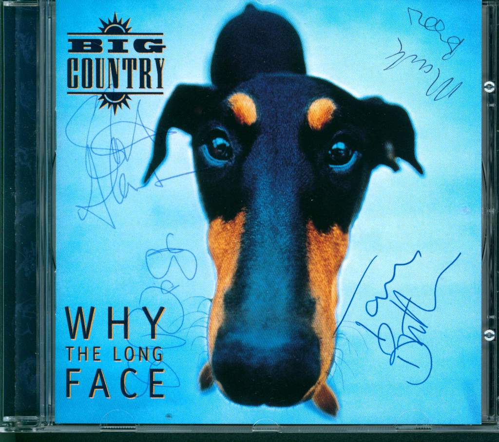 Big Country: Why The Long Face, CD