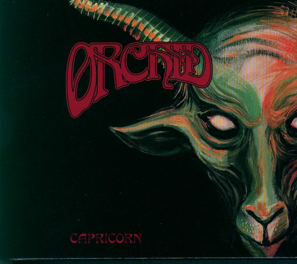 Orchid: Capricorn, CD