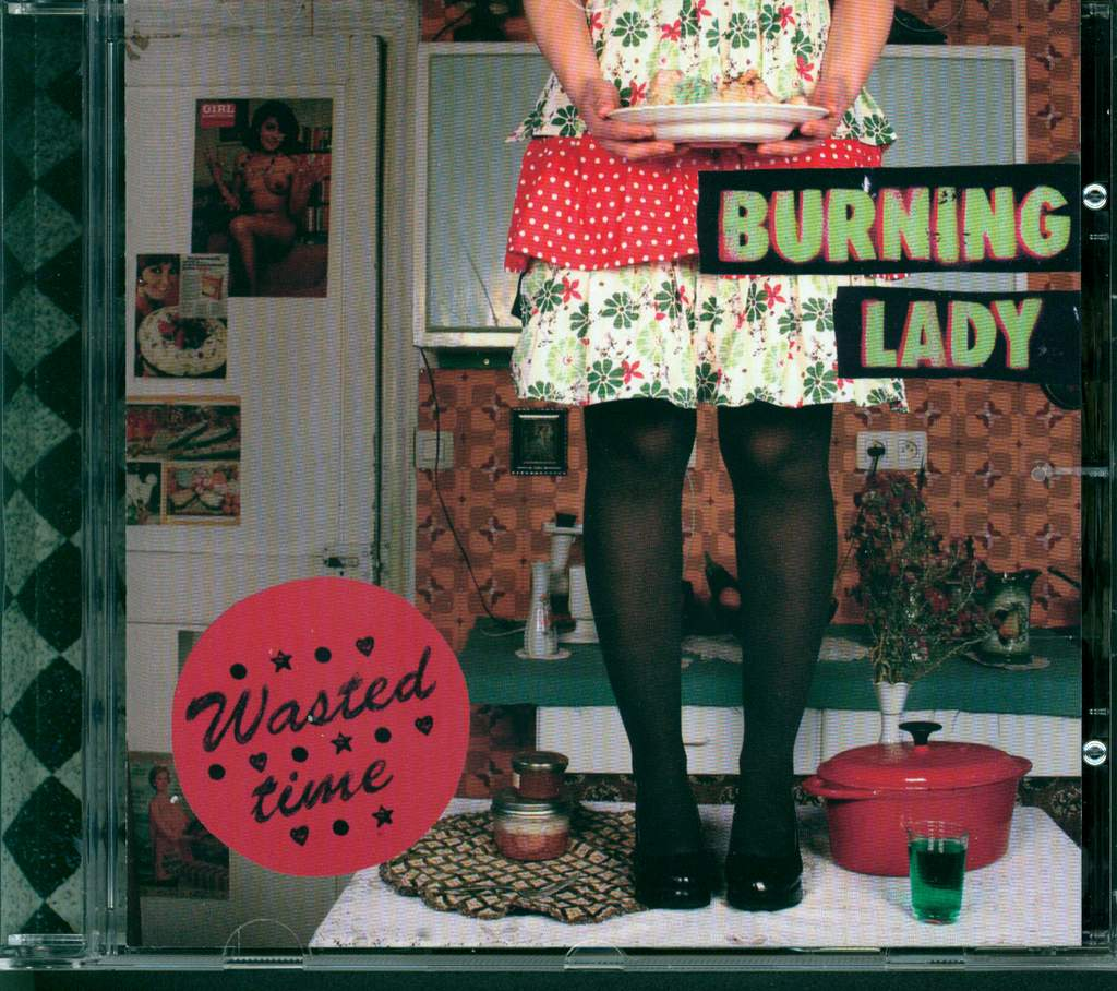 Burning Lady: Wasted Time, Mini CD