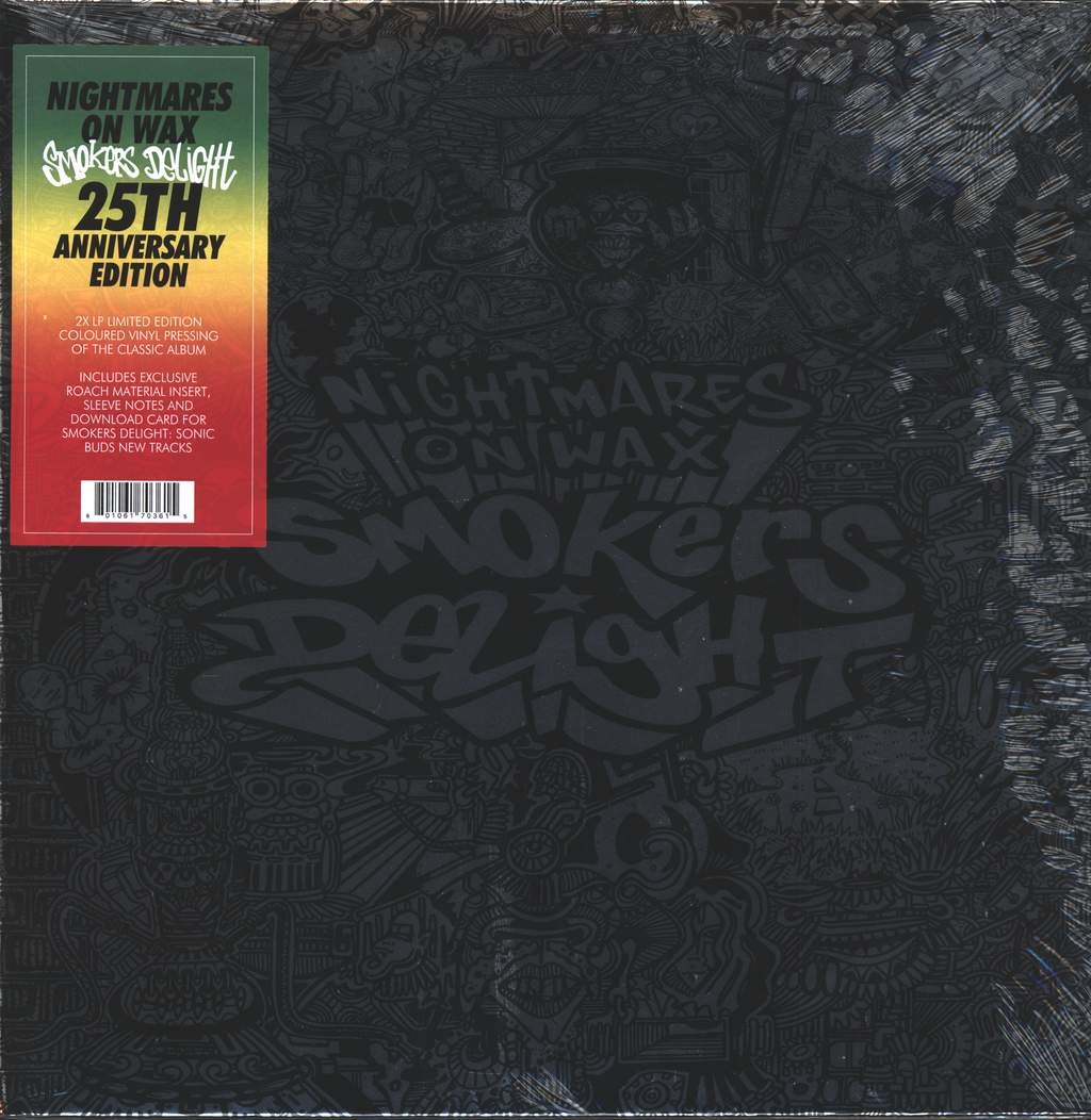 Nightmares on Wax: Smokers Delight, 2×LP (Vinyl)