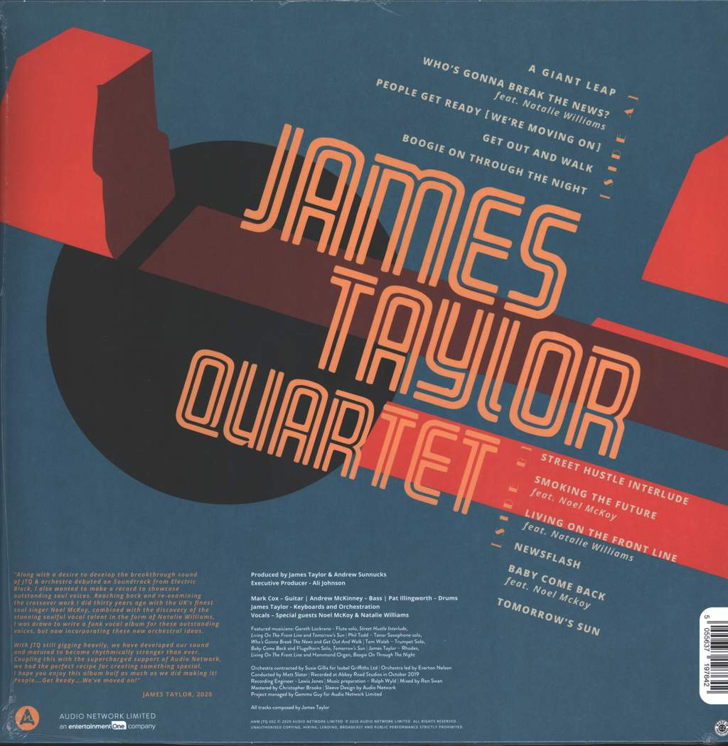 The James Taylor Quartet: People Get Ready [We're Moving On], LP (Vinyl)