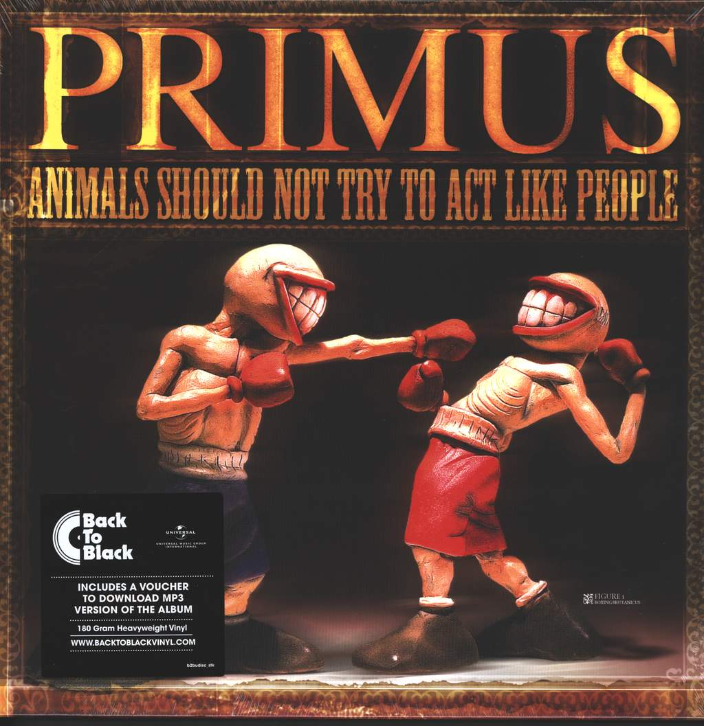 """Primus: Animals Should Not Try To Act Like People, 12"""" Maxi Single (Vinyl)"""