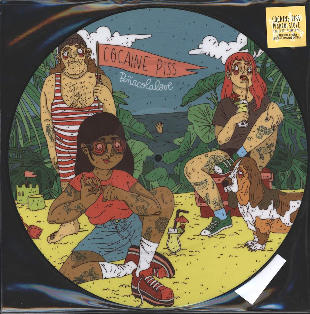 "Cocaine Piss: Piñacolalove, 12"" Maxi Single (Vinyl)"