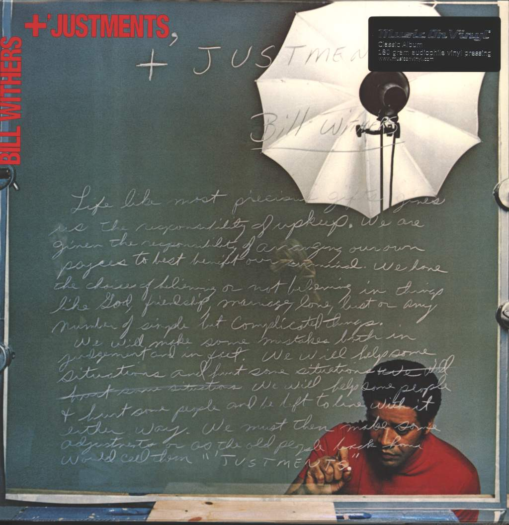 Bill Withers: +'Justments, LP (Vinyl)