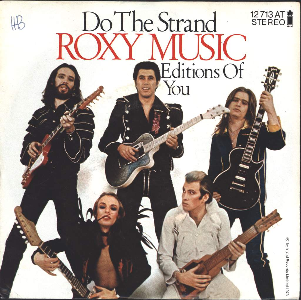 "Roxy Music: Do The Strand, 7"" Single (Vinyl)"