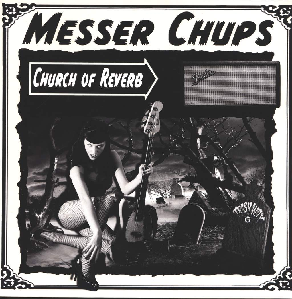 Messer Chups: Church Of Reverb, LP (Vinyl)