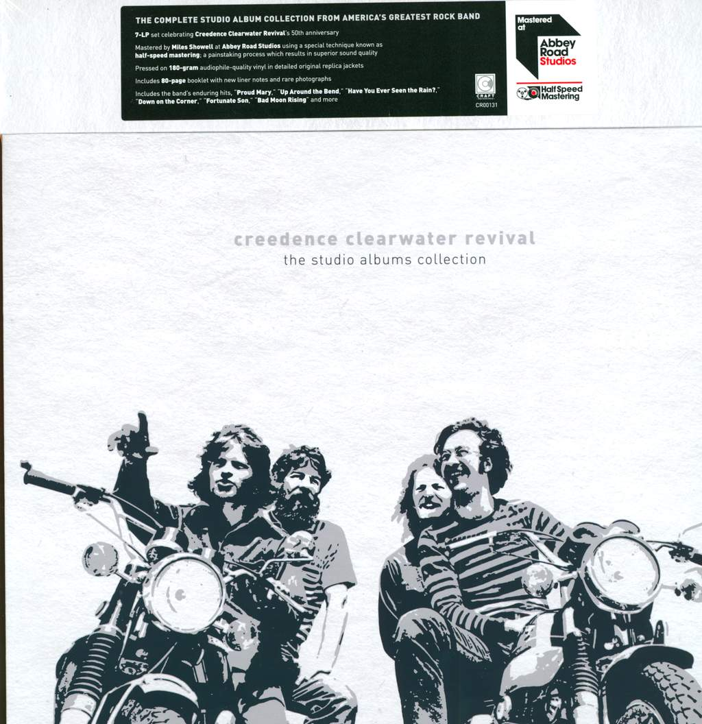 Creedence Clearwater Revival: The Studio Albums Collection, 7×LP (Vinyl)