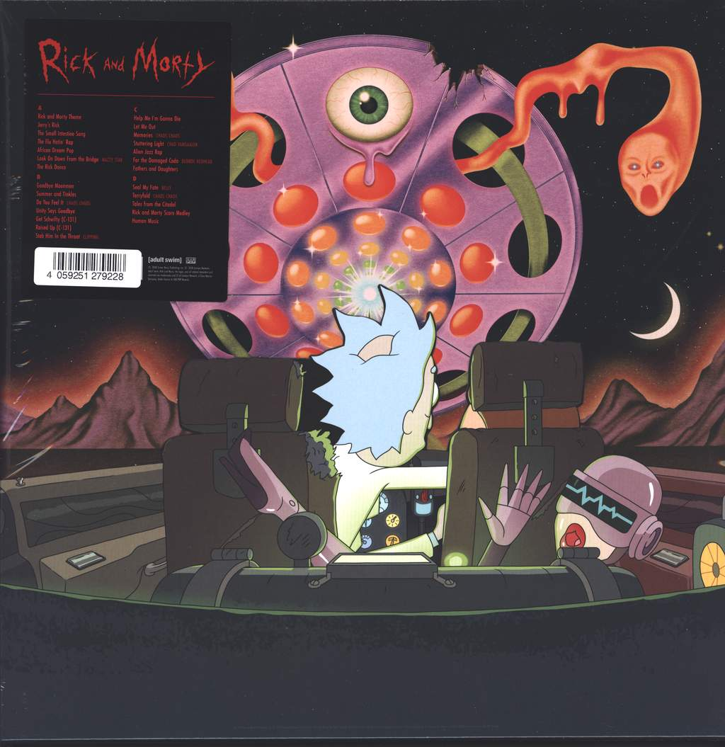 Various: The Rick And Morty Soundtrack, 2×LP (Vinyl)