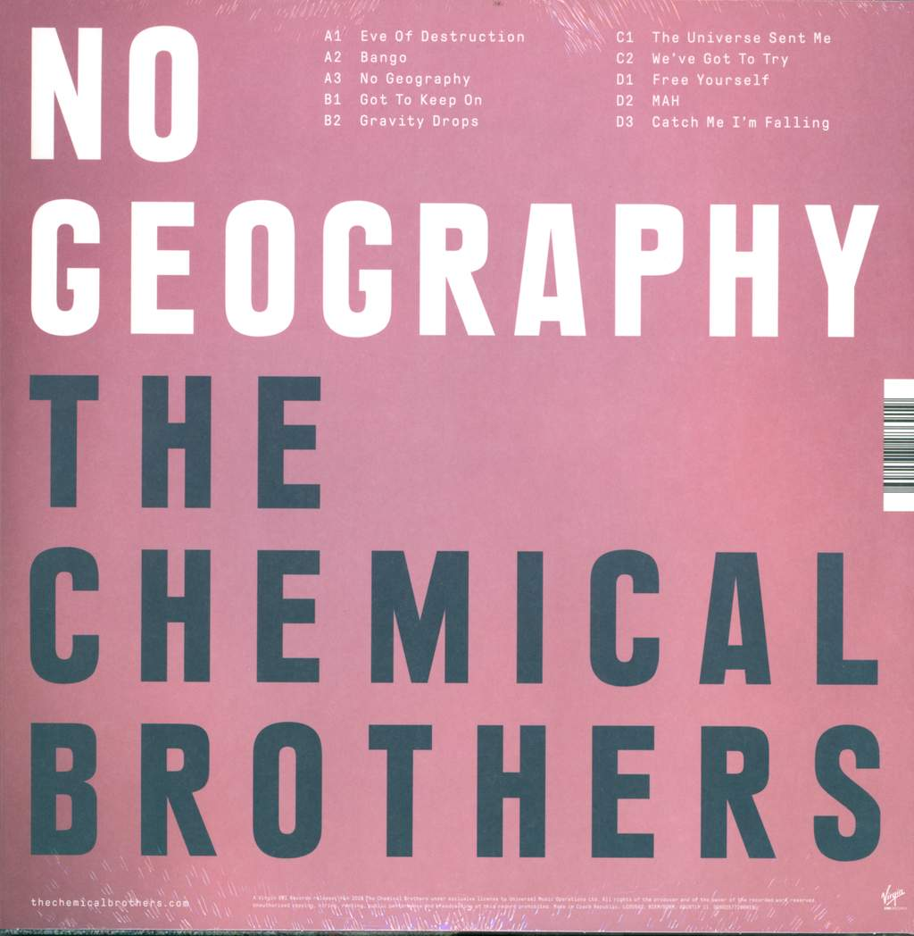 The Chemical Brothers: No Geography, 2×LP (Vinyl)