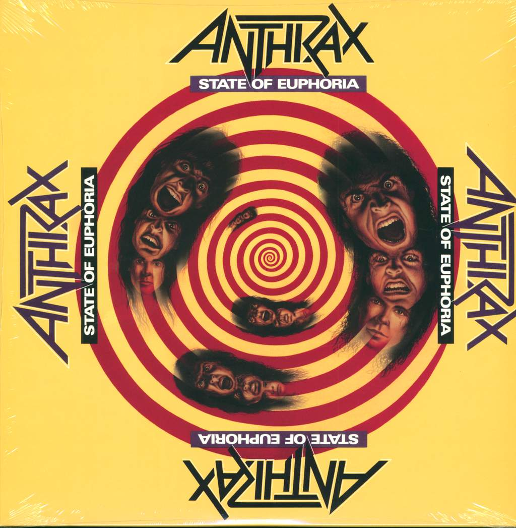 Anthrax: State Of Euphoria, 2×LP (Vinyl)