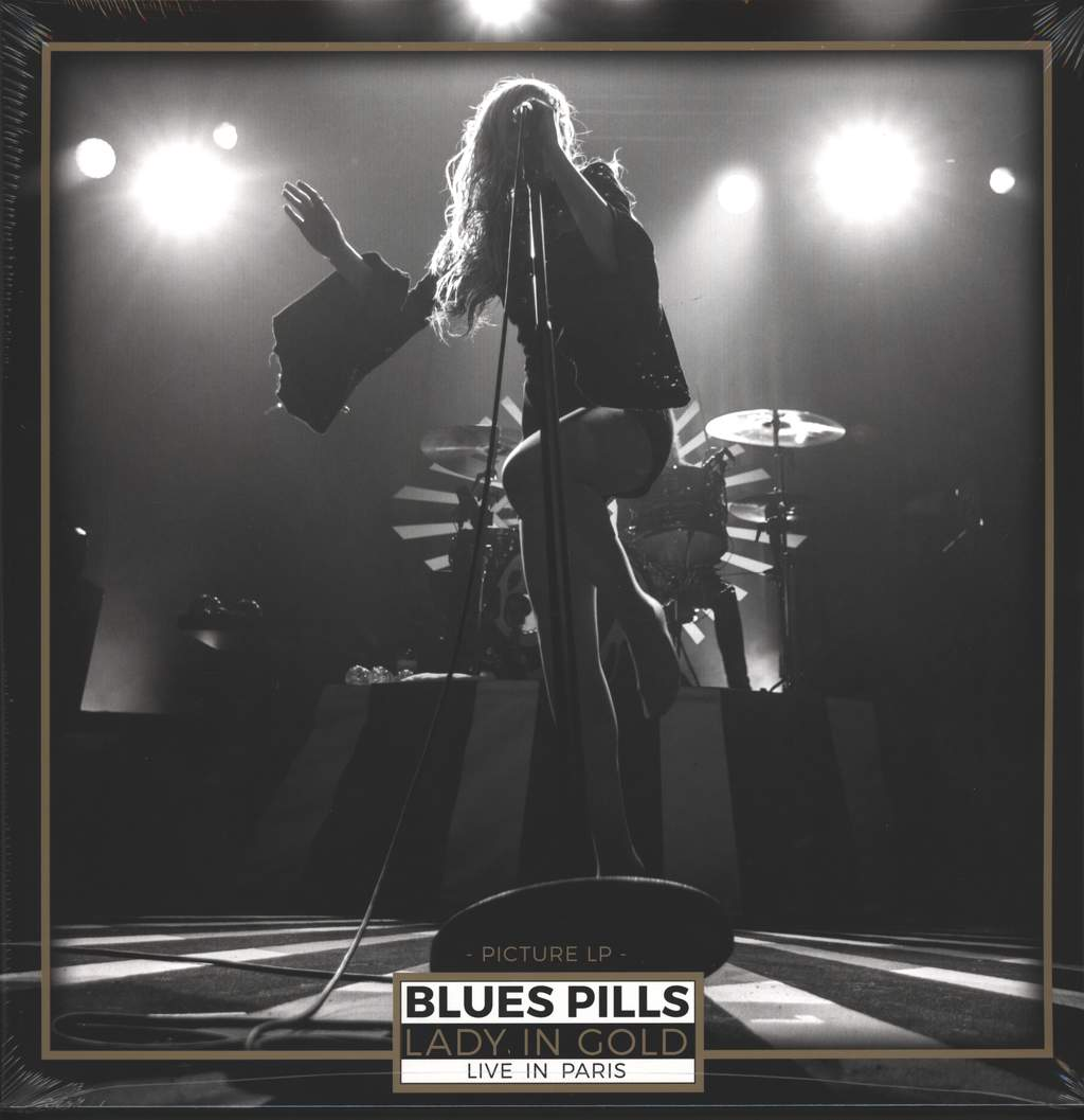Blues Pills: Lady In Gold - Live In Paris, 2×LP (Vinyl)