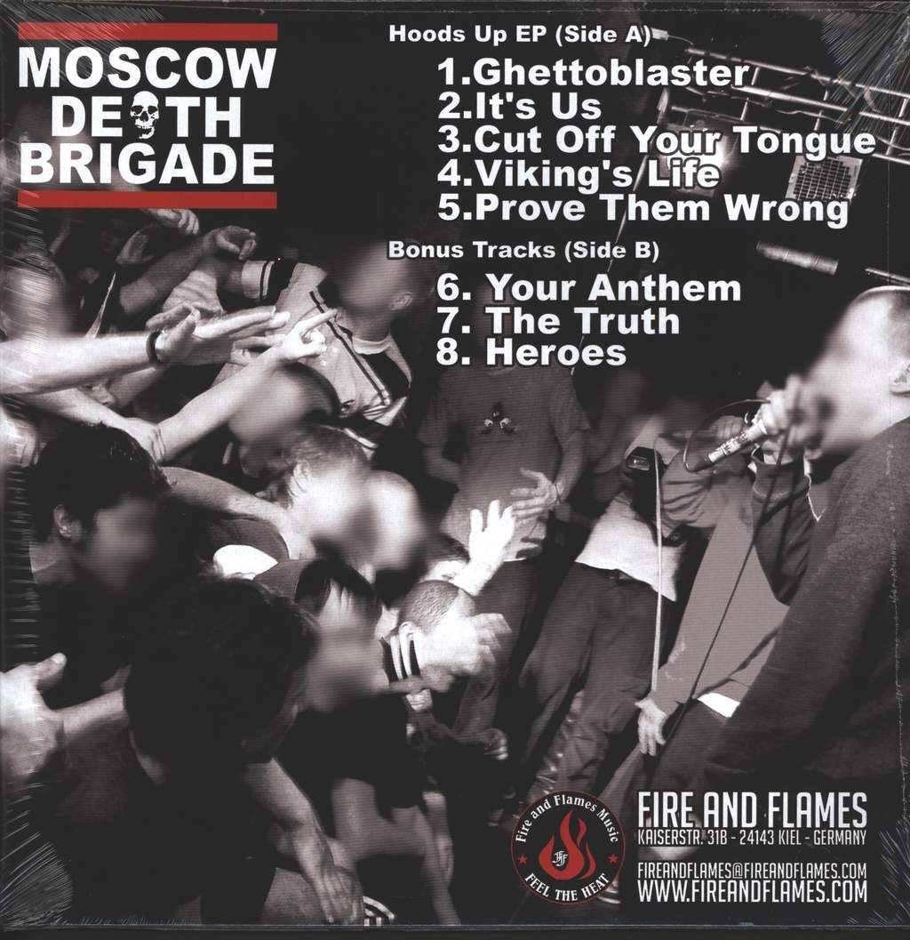 "Moscow Death Brigade: Hoods Up, 12"" Maxi Single (Vinyl)"