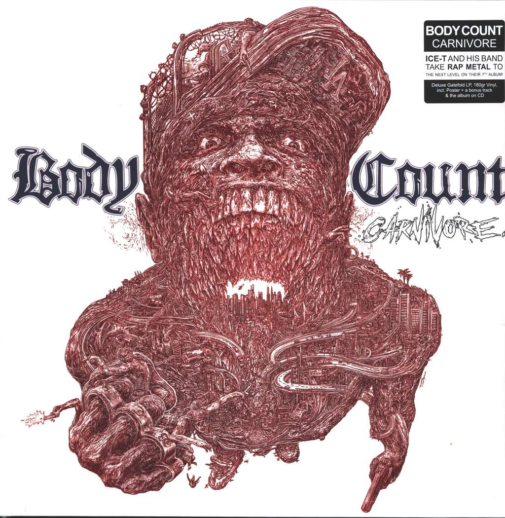 Body Count: Carnivore, LP (Vinyl)
