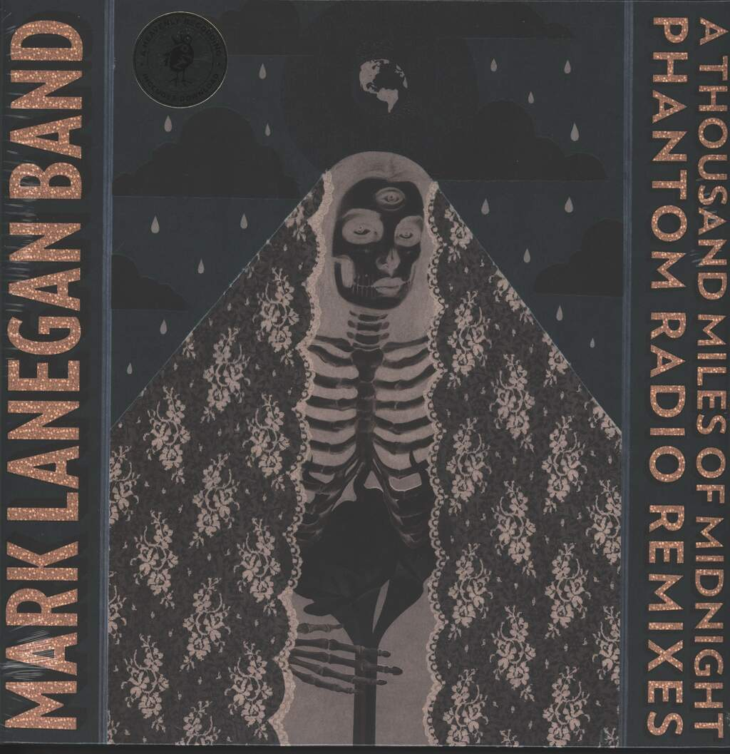 Mark Lanegan Band: A Thousand Miles Of Midnight (Phantom Radio Remixes), 2×LP (Vinyl)
