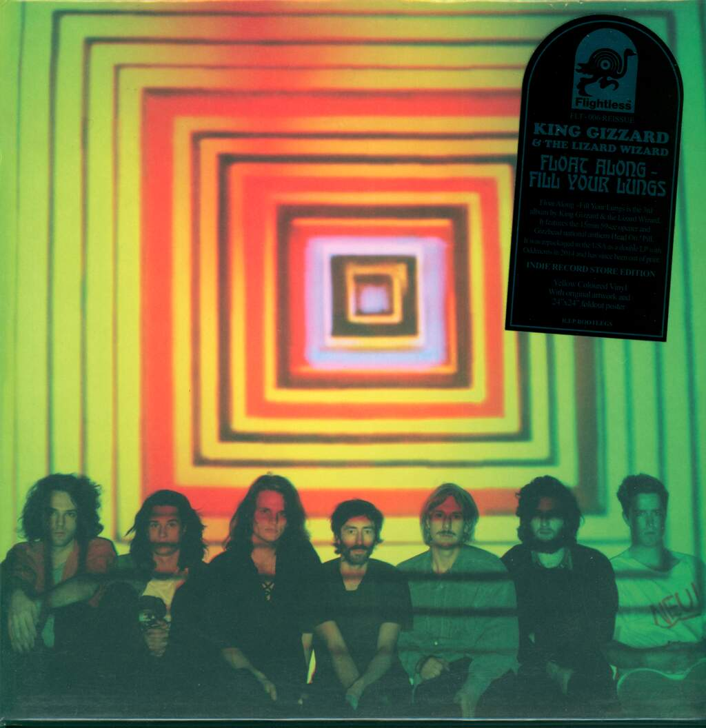 King Gizzard And The Lizard Wizard: Float Along - Fill Your Lungs, LP (Vinyl)