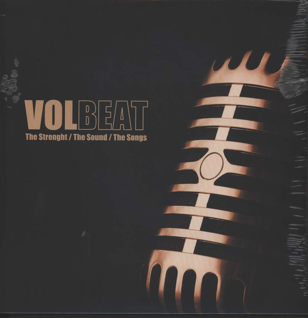Volbeat: The Strength / The Sound / The Songs, LP (Vinyl)