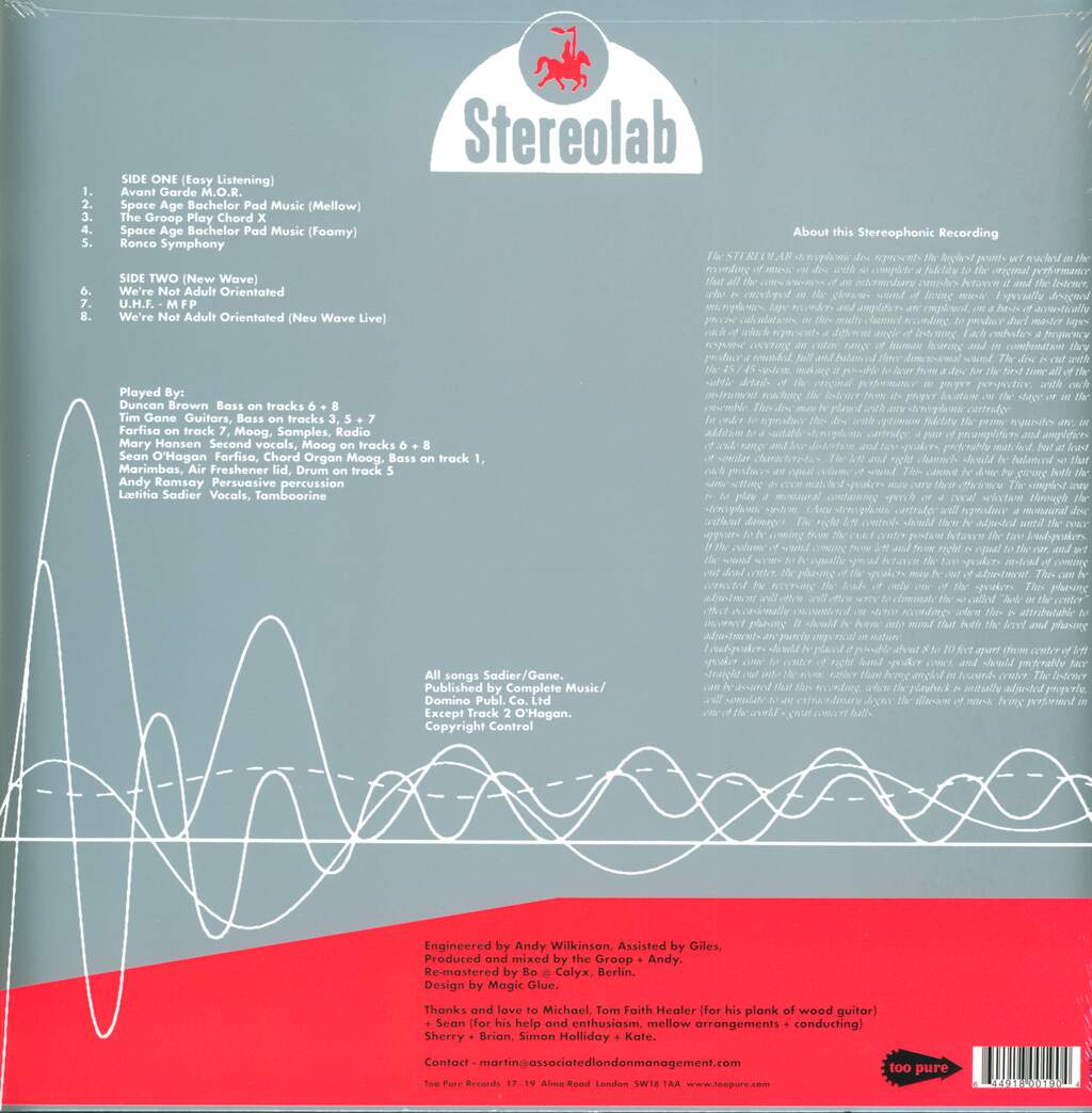 """Stereolab: The Groop Played """"Space Age Batchelor Pad Music"""", Mini LP (Vinyl)"""