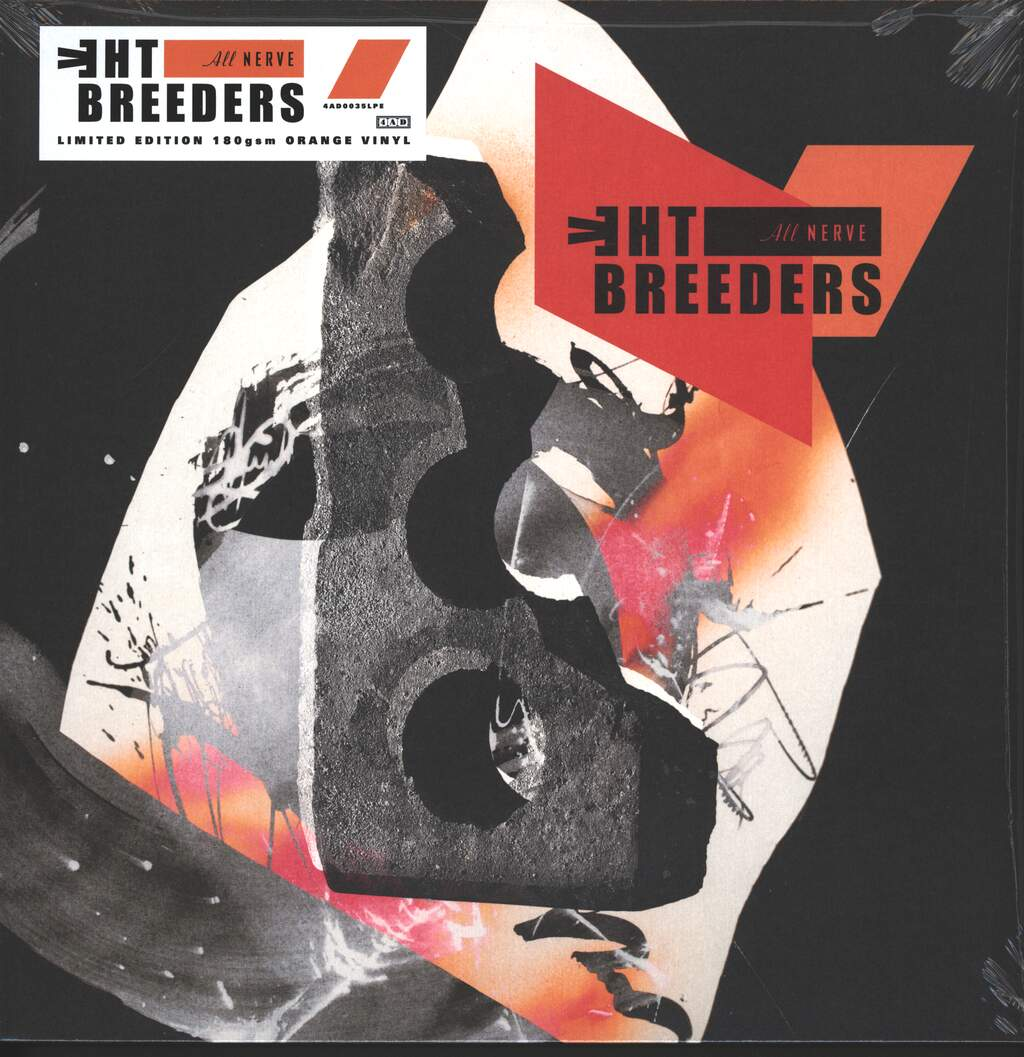 The Breeders: All Nerve, LP (Vinyl)