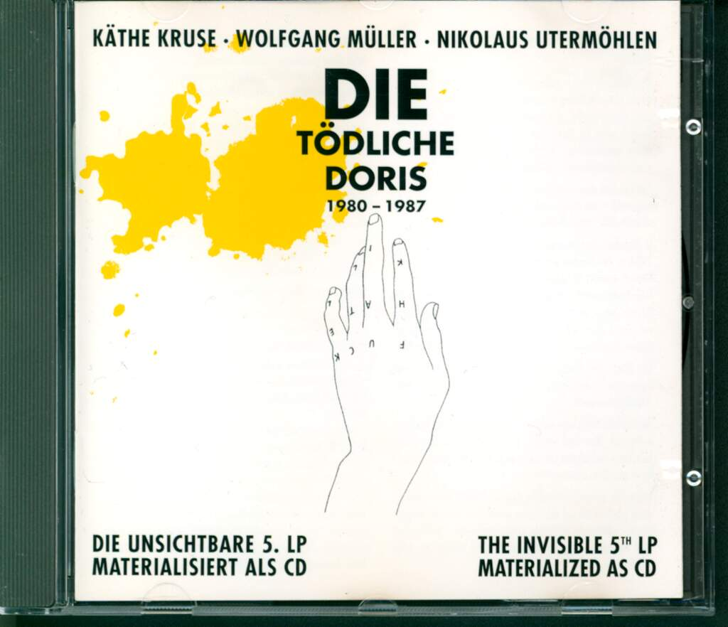 Käthe Kruse: Die Unsichtbare 5. LP Materialisiert Als CD / The Invisible 5th LP Materialized As CD, CD
