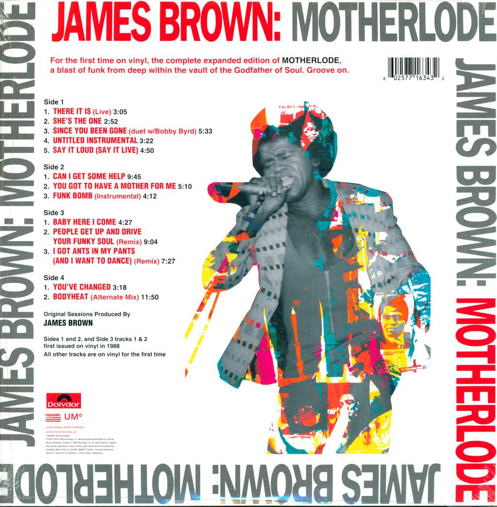 James Brown: Motherlode, 2×LP (Vinyl)