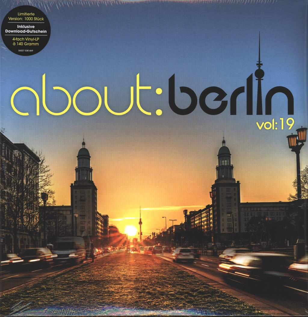 Various: About:Berlin Vol:19, 4×LP (Vinyl)