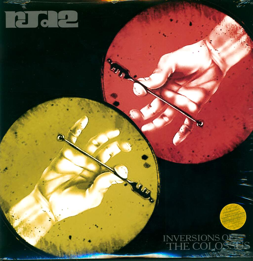 Rjd2: Inversions Of The Colossus, 2×LP (Vinyl)