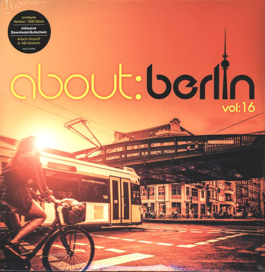 Various: About:Berlin Vol:16, 4×LP (Vinyl)