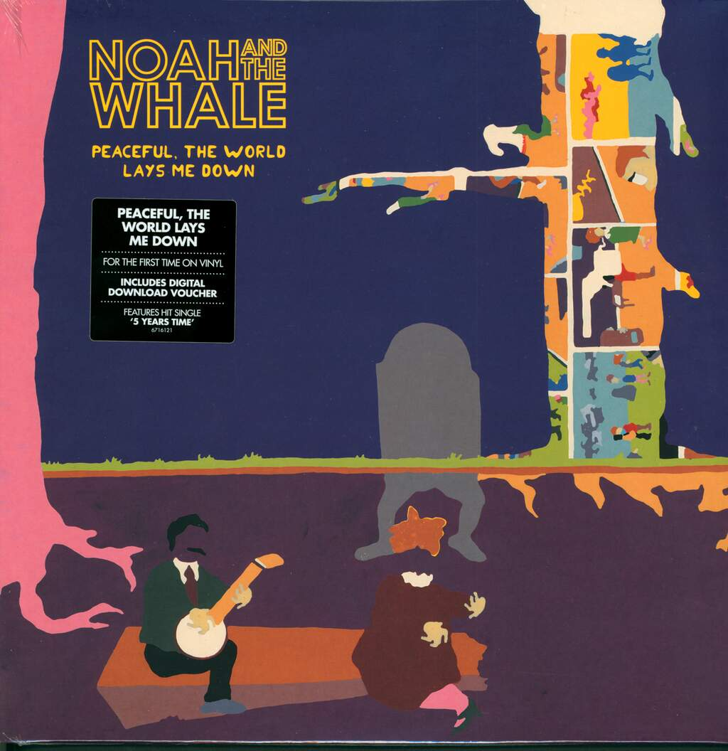 Noah And The Whale: Peaceful, The World Lays Me Down, LP (Vinyl)