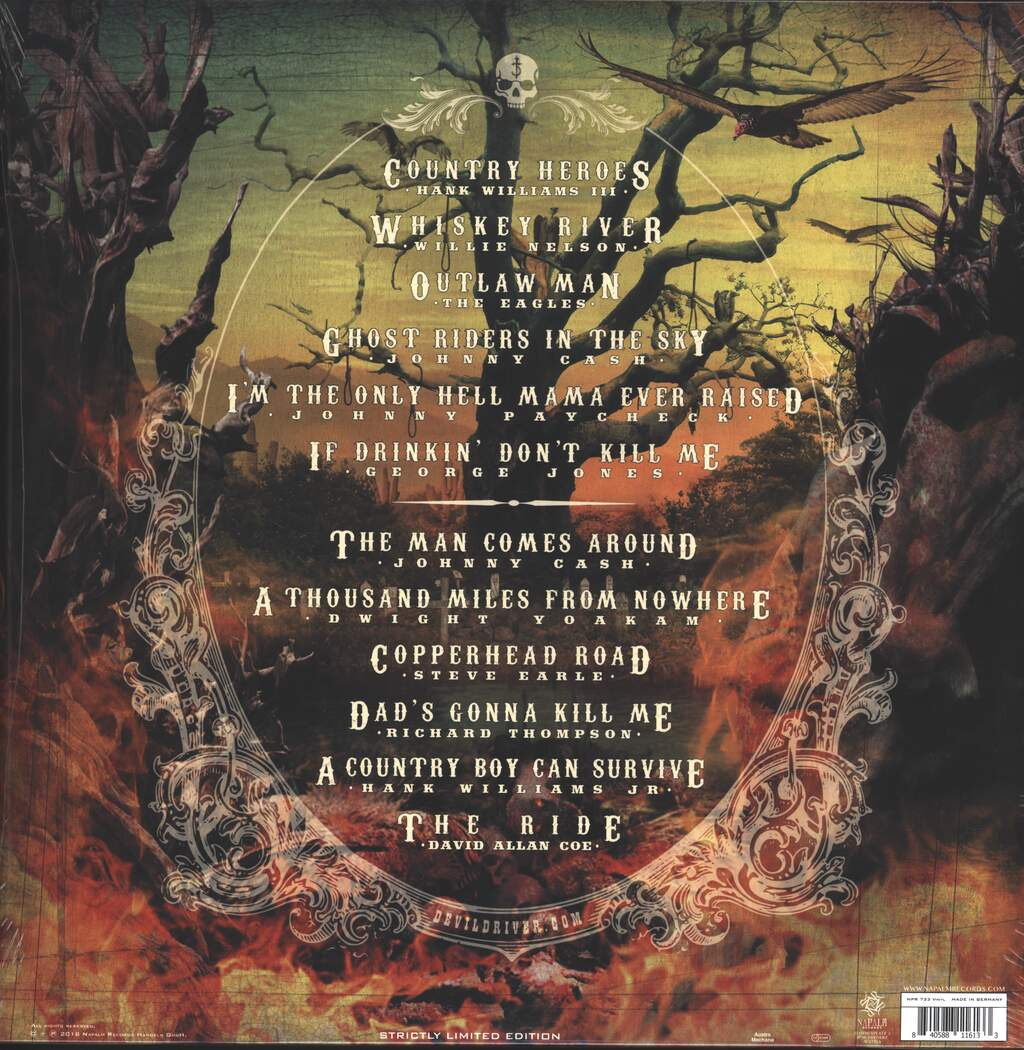DevilDriver: Outlaws 'Til The End, Vol. 1, LP (Vinyl)