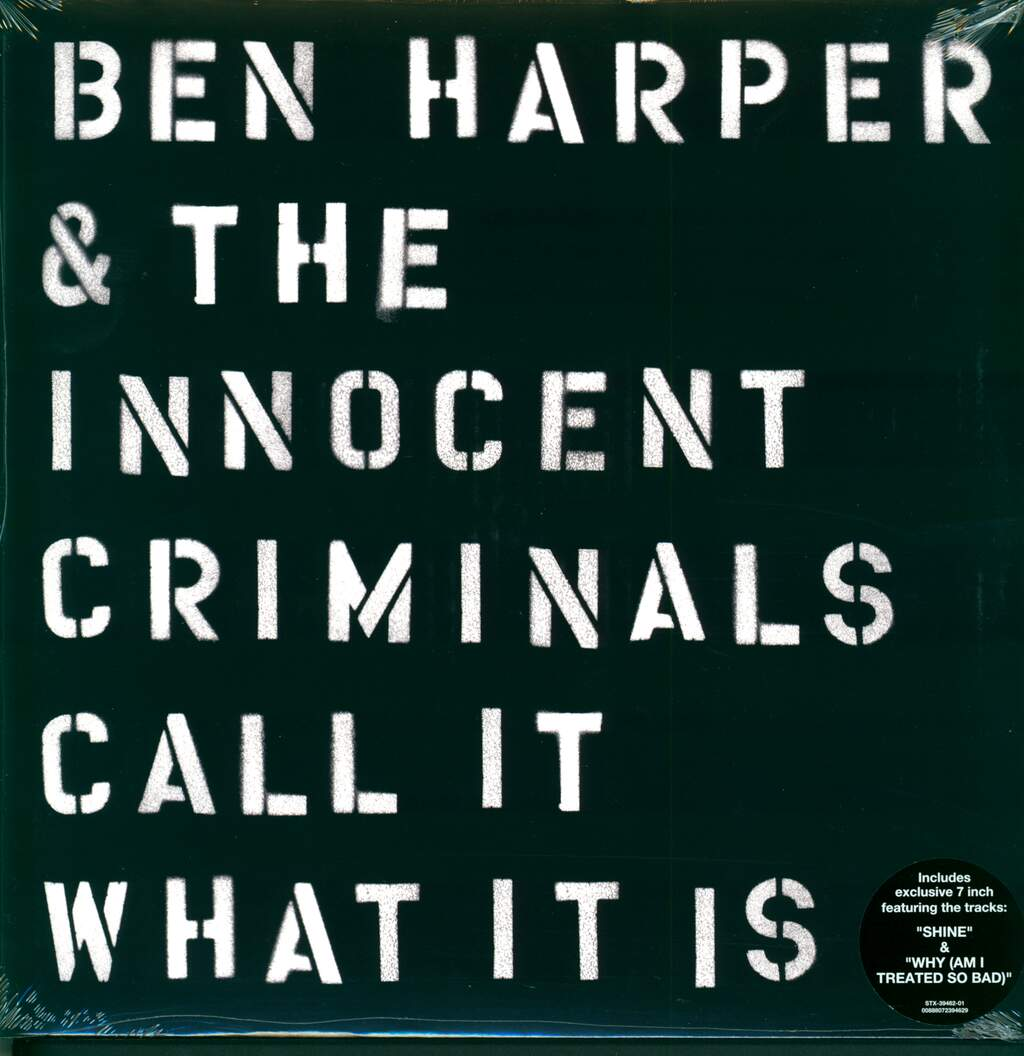 Ben Harper & The Innocent Criminals: Call It What It Is, LP (Vinyl)