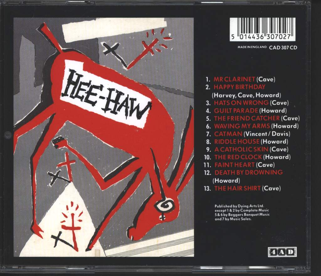 The Birthday Party: Hee-Haw, CD