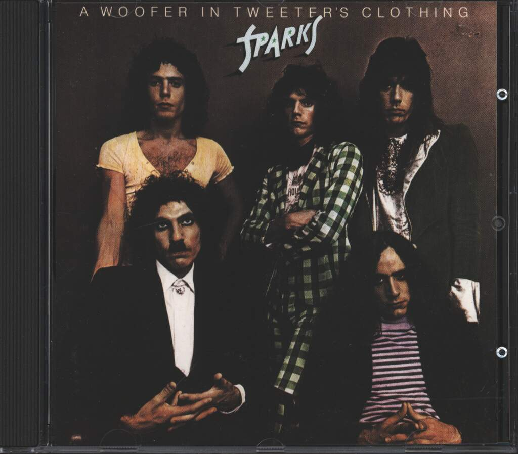 Sparks: A Woofer In Tweeter's Clothing, CD