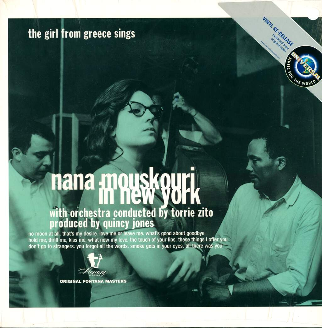 Nana Mouskouri: Nana Mouskouri In New York - The Girl From Greece Sings, LP (Vinyl)
