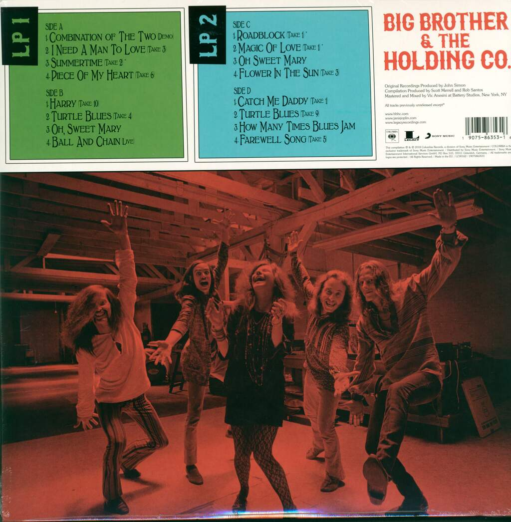 Big Brother & The Holding Company: Sex, Dope & Cheap Thrills, 2×LP (Vinyl)