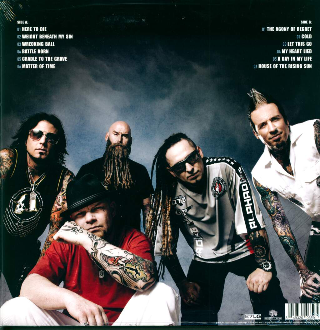 Five Finger Death Punch: The Wrong Side Of Heaven And The Righteous Side Of Hell, Volume 2, LP (Vinyl)