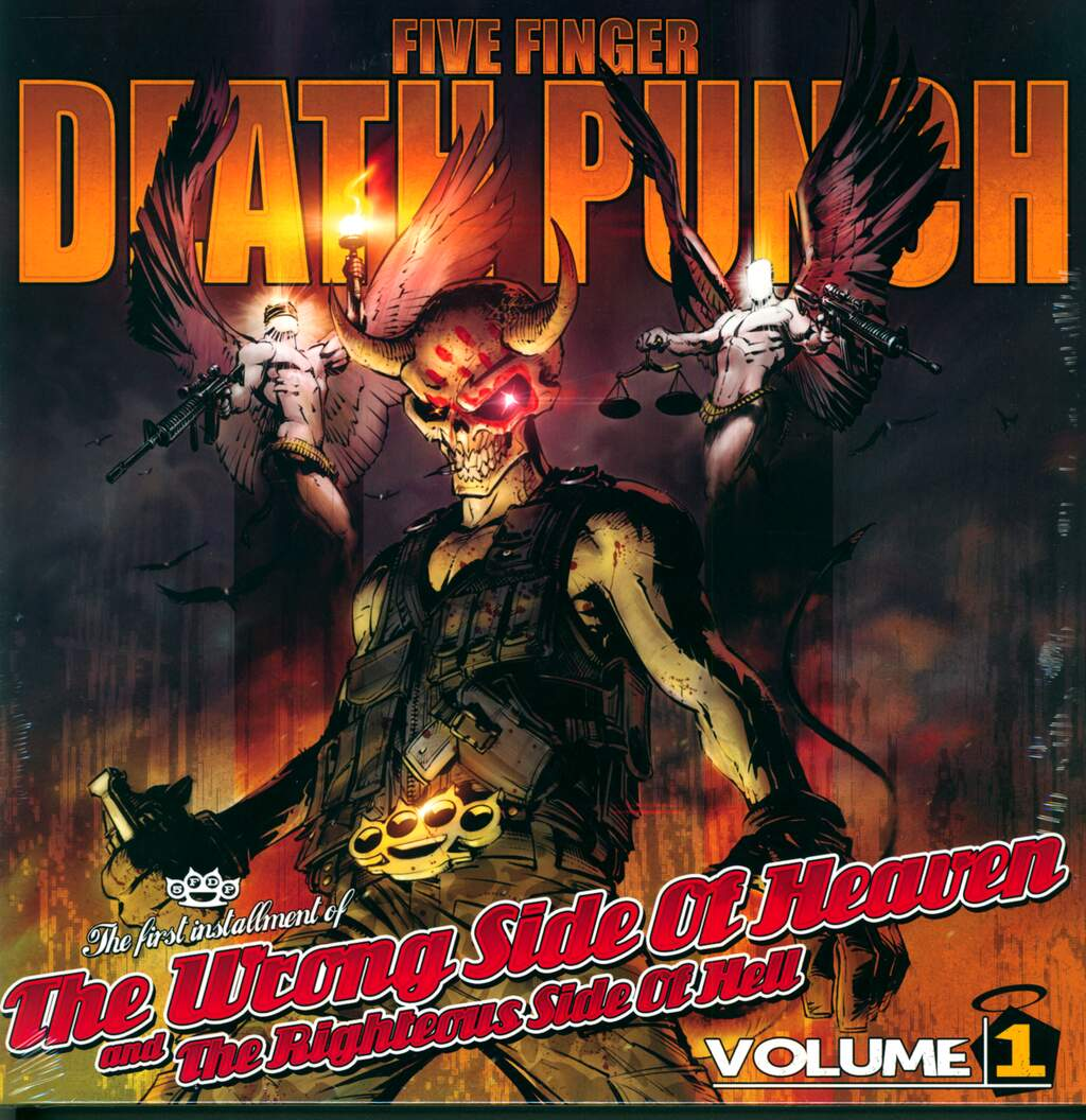 Five Finger Death Punch: The Wrong Side Of Heaven And The Righteous Side Of Hell, Volume 1, 2×LP (Vinyl)