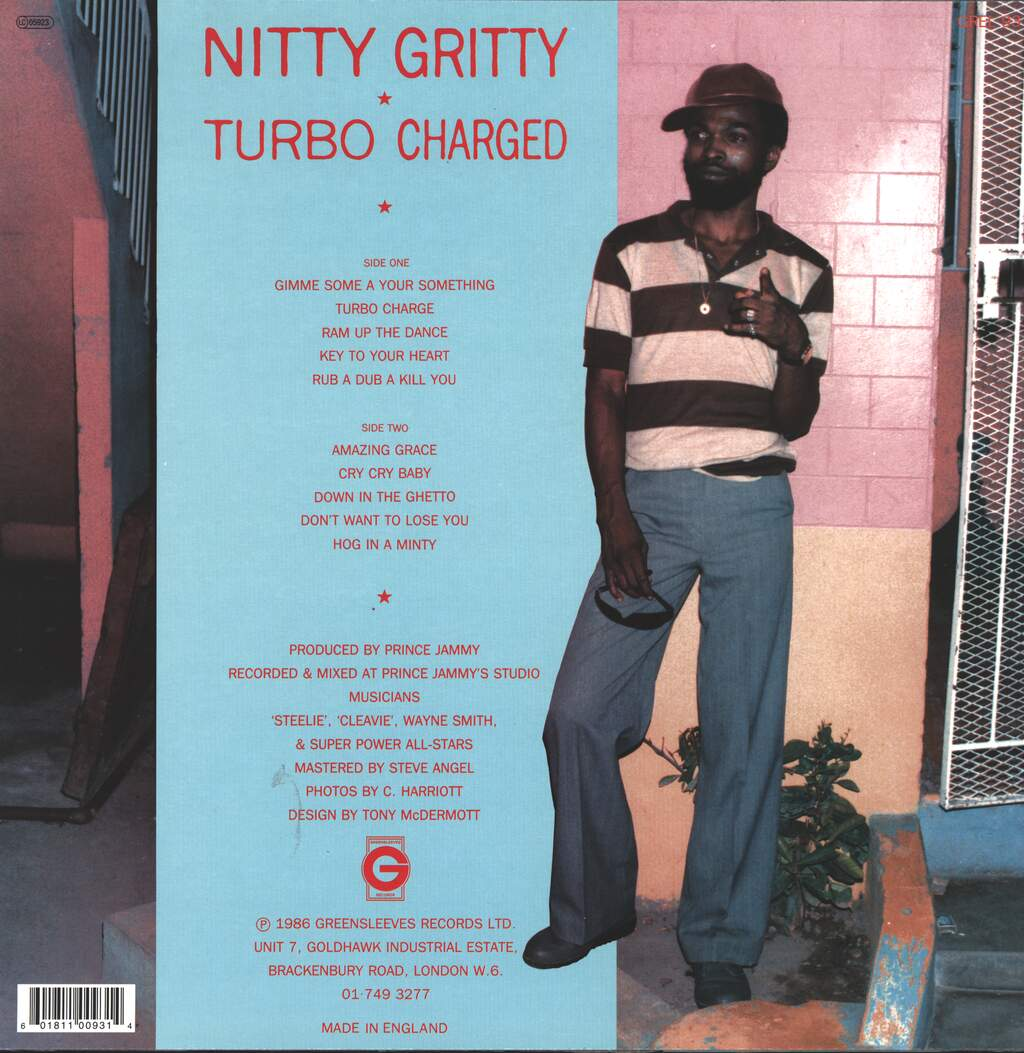 Nitty Gritty: Turbo Charged, LP (Vinyl)